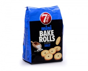 7 Day's Bake rolls mini, slani